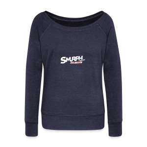 Limited Edition SmurphSquad Merch - Women's Wideneck Sweatshirt