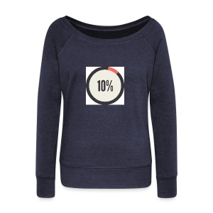 10% Album - Women's Wideneck Sweatshirt