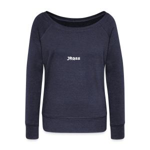 JRoss Brand - Women's Wideneck Sweatshirt