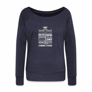 Real Madrid Design - Women's Wideneck Sweatshirt