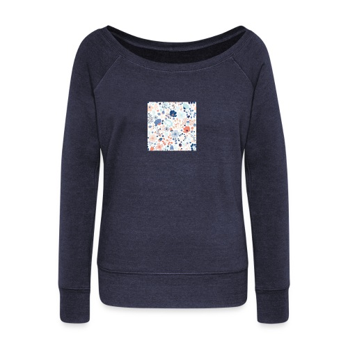 flowers - Women's Wideneck Sweatshirt