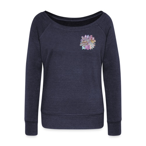 CrystalMerch - Women's Wideneck Sweatshirt