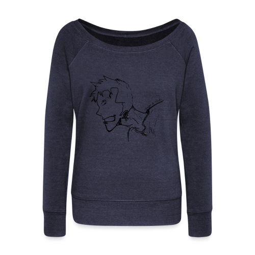 Design by Daka - Women's Wideneck Sweatshirt