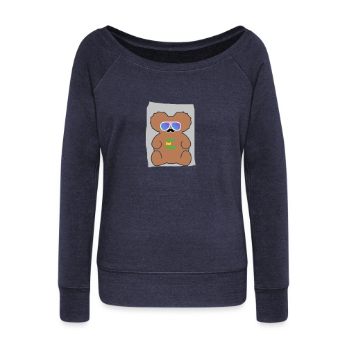 Aussie Dad Gaming Koala - Women's Wideneck Sweatshirt