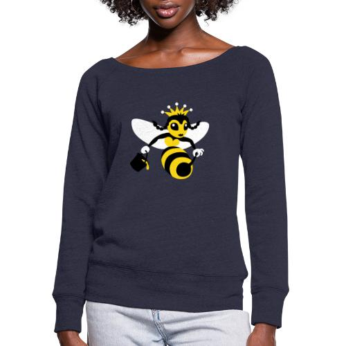 Queen Bee - Women's Wideneck Sweatshirt
