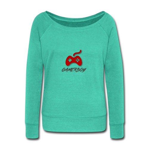 Gamerboy - Women's Wideneck Sweatshirt