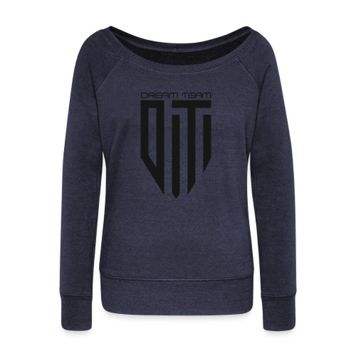 1 - Women's Wideneck Sweatshirt