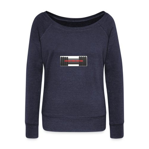 colin the lifter - Women's Wideneck Sweatshirt
