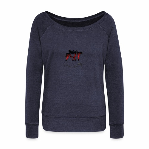 ART - Women's Wideneck Sweatshirt