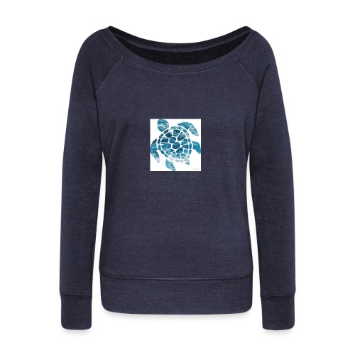 turtle - Women's Wideneck Sweatshirt