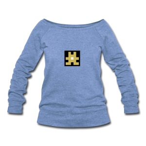 YELLOW hashtag - Women's Wideneck Sweatshirt