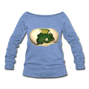 The Emerald Dragon of Nital - Women's Wideneck Sweatshirt