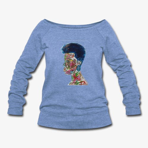Natural Queen - Women's Wideneck Sweatshirt