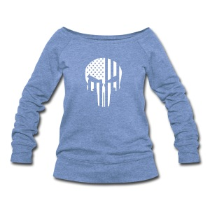 punisher - Women's Wideneck Sweatshirt