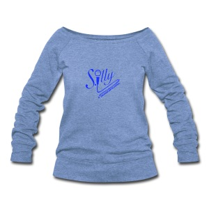 S.illyApparel Dodger Blue - Women's Wideneck Sweatshirt