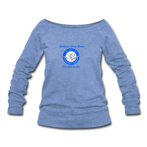 BarberShop Books - Women's Wideneck Sweatshirt