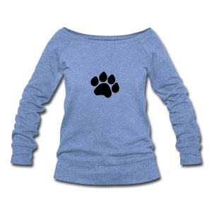 Black Paw Stuff - Women's Wideneck Sweatshirt