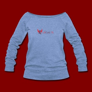 Horizontal for Light Clothing - Women's Wideneck Sweatshirt