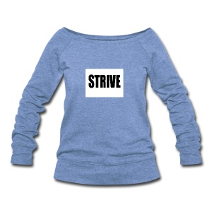 strive - Women's Wideneck Sweatshirt