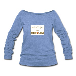 Girl Basketball shirt - Women's Wideneck Sweatshirt