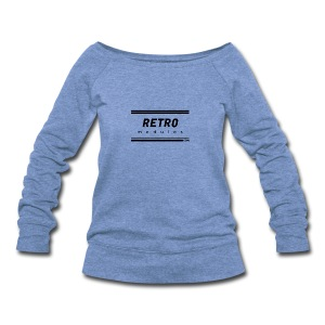 Retro Modules - Women's Wideneck Sweatshirt