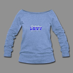 DETECTING ENVY TITLE - Women's Wideneck Sweatshirt