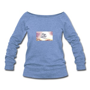 Praise The Lord T-Shirt - Women's Wideneck Sweatshirt