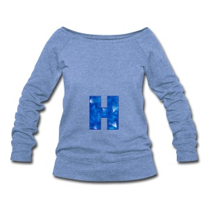 XxHaunter Logo - Women's Wideneck Sweatshirt