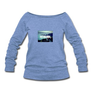 Istanbul Lovers - Women's Wideneck Sweatshirt