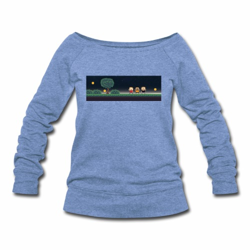 Twitter Header 01 - Women's Wideneck Sweatshirt