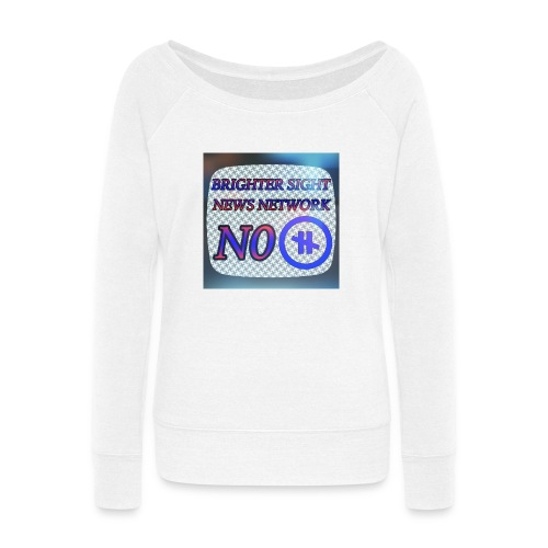 NO PAUSE - Women's Wideneck Sweatshirt