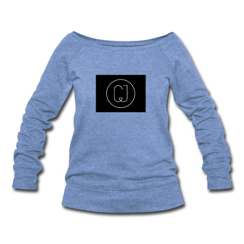 CJ - Women's Wideneck Sweatshirt