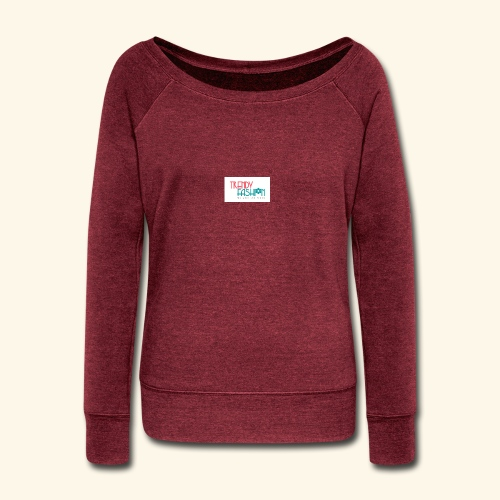 Trendy Fashions Go with The Trend @ Trendyz Shop - Women's Wideneck Sweatshirt