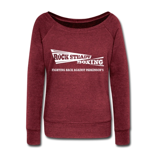 I Am Rock Steady T shirt - Women's Wideneck Sweatshirt