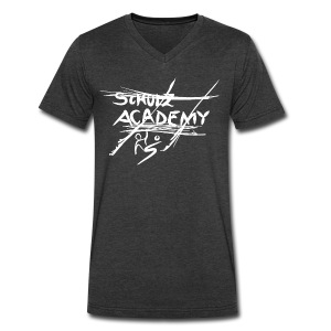 # Schulz Academy white - Men's V-Neck T-Shirt by Canvas