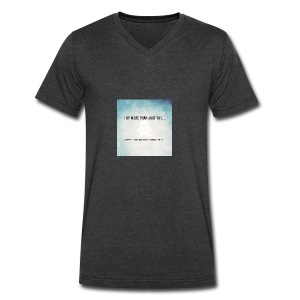 I do more than try - Men's V-Neck T-Shirt by Canvas
