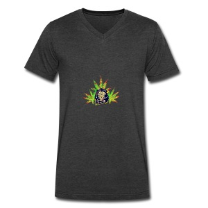 The Prowl - Men's V-Neck T-Shirt by Canvas