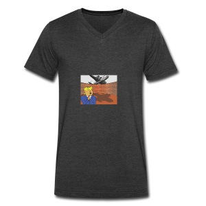 Donalds Wall - Men's V-Neck T-Shirt by Canvas