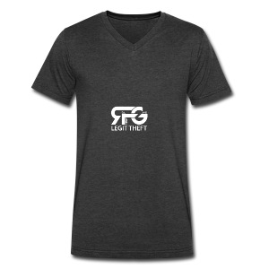 RFG - Men's V-Neck T-Shirt by Canvas