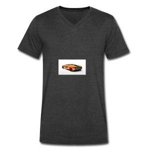 ChillBrosGaming Chill Like This Car - Men's V-Neck T-Shirt by Canvas