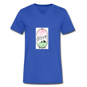 The Able Sisters - Men's V-Neck T-Shirt by Canvas