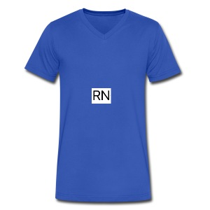 RN_Logo_small - Men's V-Neck T-Shirt by Canvas