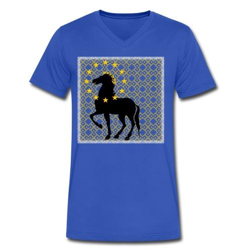 Roman Horse - Men's V-Neck T-Shirt by Canvas