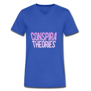 Women's - ConspiraTheories Official T-Shirt - Men's V-Neck T-Shirt by Canvas
