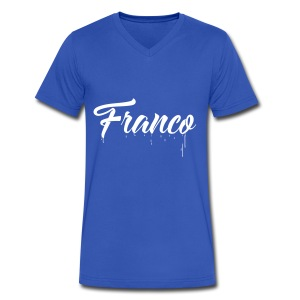 Franco Paint - Men's V-Neck T-Shirt by Canvas