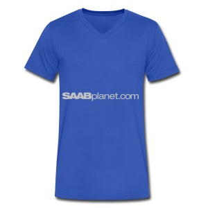 Saab - Men's V-Neck T-Shirt by Canvas