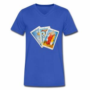Tarot - Men's V-Neck T-Shirt by Canvas