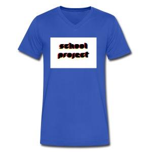 SCHL PRJCT Glitch R - Men's V-Neck T-Shirt by Canvas