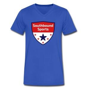 Southbound Sports Crest Logo - Men's V-Neck T-Shirt by Canvas