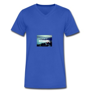 Istanbul Lovers - Men's V-Neck T-Shirt by Canvas